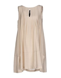 Tela Dresses Short Dresses Women Beige