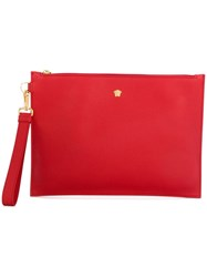 Versace Medusa Clutch Bag Red