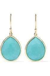 Ippolita Rock Candy 18 Karat Gold Turquoise Earrings One Size