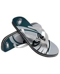 Forever Collectibles Philadelphia Eagles Thong Sandals