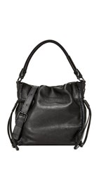 Foley Corinna Ami Drawstring Bag Black