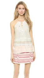 Thakoon Double Layer Tank Ivory