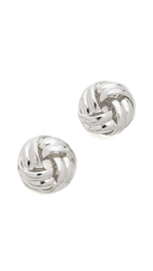 Juliet And Company Forget Me Knot Earrings Antique Silver