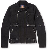 Blackmeans Cotton Canvas Field Jacket Black
