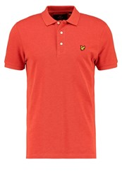 Lyle And Scott Polo Shirt Rot Red
