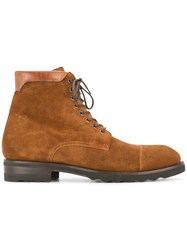 Magnanni Classic Lace Up Boots Brown