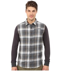 Howe No Truth Woven Shirt Dark Slate Men's Clothing Gray
