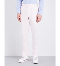 Thom Browne Regular Fit Cotton Chinos Lt Pink