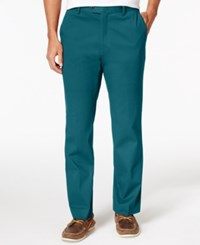 Tasso Elba Men's Regular Fit Chino Pants Only At Macy's Blue Gem