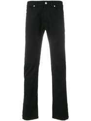 Versace Jeans Slim Fit Jeans Black