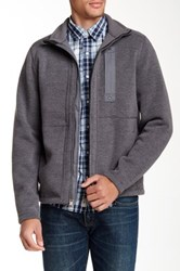 Timberland Branch River Zip Fleece Gray