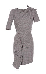 Isabel Marant Kinsley Ruched Slim Fit Dress Light Grey