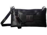 Harveys Seatbelt Bag Bow Mini Clutch Black Clutch Handbags