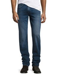 Hudson Byron Straight Leg Denim Pants Blue