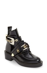 Women's Balenciaga Cutout Buckle Boot 1 3 4' Heel