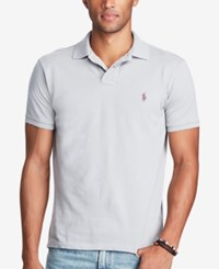 Polo Ralph Lauren Men's Classic Fit Weathered Mesh Soft Grey