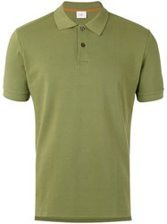 Peuterey Classic Polo Shirt Men Cotton Polyester L Green