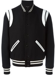 Saint Laurent Classic Teddy Jacket Black