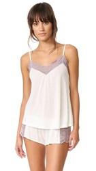 Only Hearts Club Venice Low Back Cami Antique White Mystic