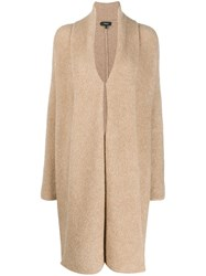 Theory Long Cardigan Neutrals