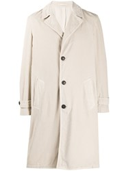 Massimo Alba Single Breasted Trench Coat 60