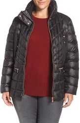 Bernardo Plus Size Women's Packable Jacket With Down And Primaloft Fill