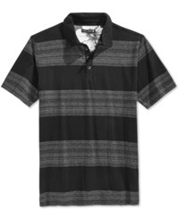 Ocean Current Men's Element Stripe Polo Black