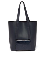 Lutz Morris Seveny Leather Tote Navy