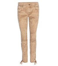 Polo Ralph Lauren Tompkins Skinny Jeans Brown