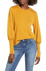 The Fifth Label Whistle Knit Top Mustard