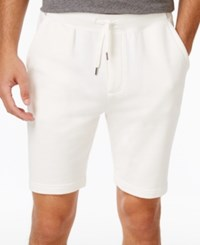 Brooks Brothers Red Fleece Men's Cotton French Terry Drawstring Shorts White