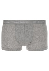 Tom Tailor Basic Shorts Dark Grey Melange Mottled Grey