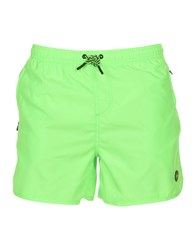 F K Project Swim Trunks Acid Green