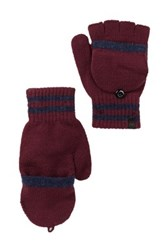 Timberland Pop Top Convertible Gloves Red