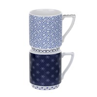 Ted Baker Stacking Mug Set Of 2 Balfour I And Ii