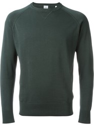 Aspesi Crew Neck Sweatshirt Green