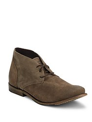 Walk Over Vintage Collection Leather Chukka Boots Grey