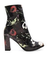 Matisse Graffiti Booties Black