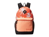 Hurley Mater Printed Backpack Hyper Orange Sunset Glow Light Wild Mango Backpack Bags