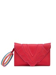 Elena Ghisellini Rainbow Hoop Shoulder Bag Pink
