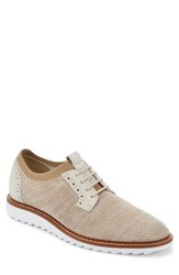 G.H. Bass 'S And Co. Buck 2.0 Plain Toe Derby Oatmeal Knit Nubuck