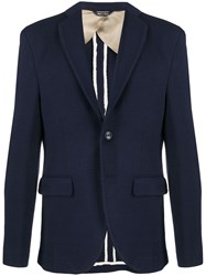 Lc23 Single Breasted Fitted Blazer 60