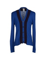 Galliano Knitwear Cardigans Men Blue