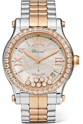 Chopard Happy Sport 36 18 Karat Rose Gold Gbp