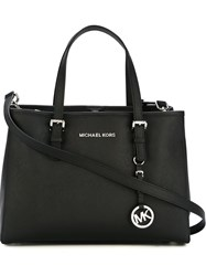 Michael Kors Top Zip Tote Bag Black