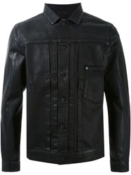 Hl Heddie Lovu Coated Denim Jacket Black