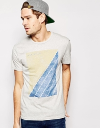 Jack Wills T Shirt With Sailing Graphic Lightashmarl