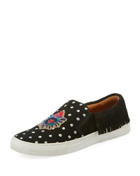 Figue Corazon Karita Slip On Sneakers Black