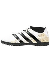 Adidas Performance Ace 16.3 Primemesh Tf Astro Turf Trainers White Gold Metallic Core Black