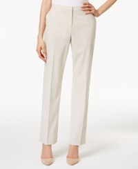 Tommy Hilfiger Straight Leg Trousers Tan
